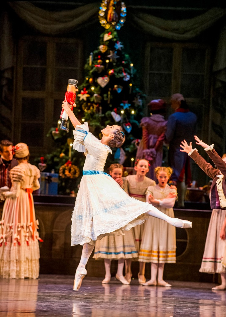 The Nutcracker. Francesca Hayward as Clara. ROH 2015. Tristram Kenton 2