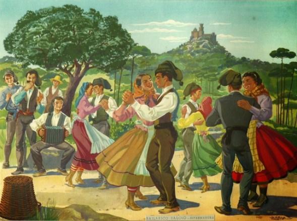 oficinas de danças tradicionais - imagem - bailarico saloio - vortex mag